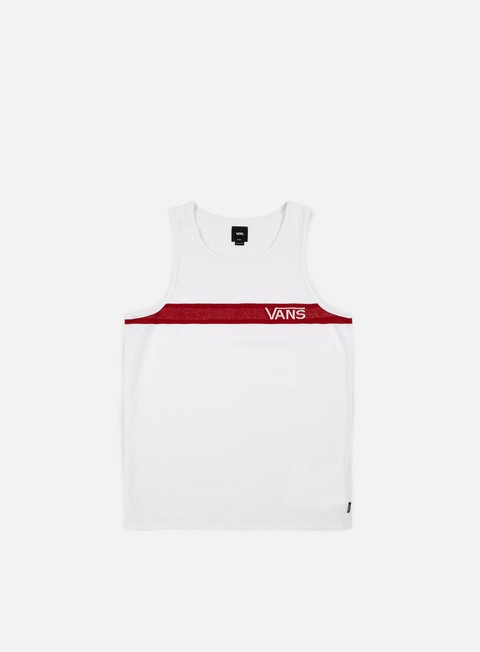t shirt vans thatcher tank top white