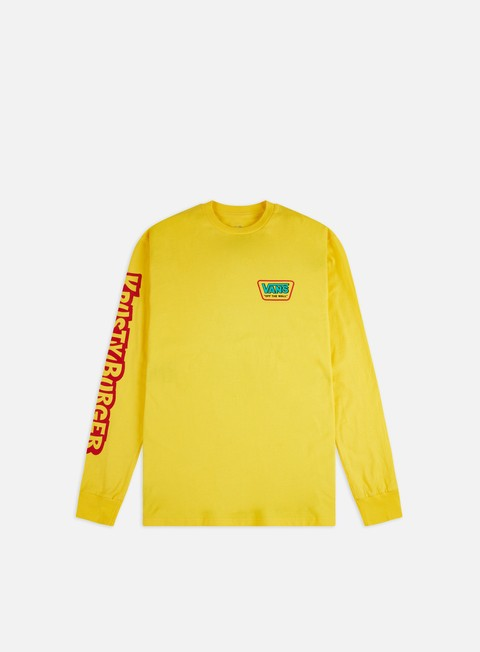 Long Sleeve T-shirts Vans The Simpson LS T-shirt