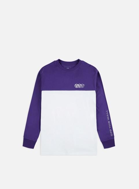Outlet e Saldi T-shirt a Manica Lunga Vans Triple Circle LS T-shirt