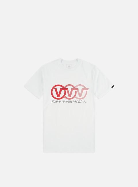 Outlet e Saldi T-shirt a Manica Corta Vans Triple Circle T-shirt