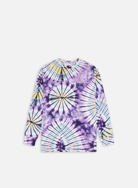 Long Sleeve T-shirts Vans Vans Burst Tie Dye LS T-shirt