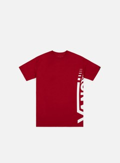 Vans - Vans Distorted T-shirt, Cardinal