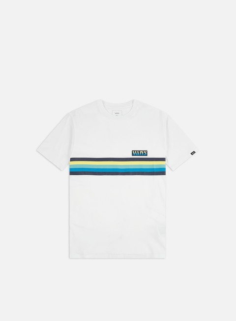 Outlet e Saldi T-shirt a Manica Corta Vans Vans Multi Stripes