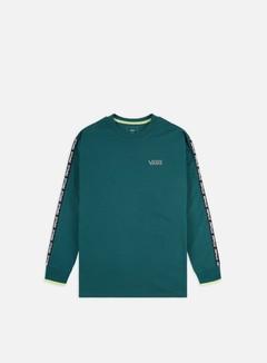 Vans - Vans Reflective Colorblock LS T-shirt, Trekking Green