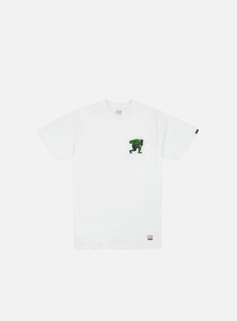 t shirt vans vans x marvel hulk t shirt white