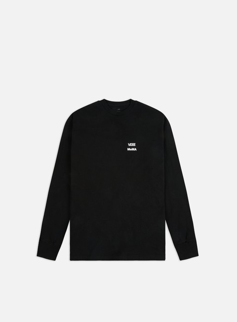 Long Sleeve T-shirts Vans Vans x MOMA Branded LS T-shirt
