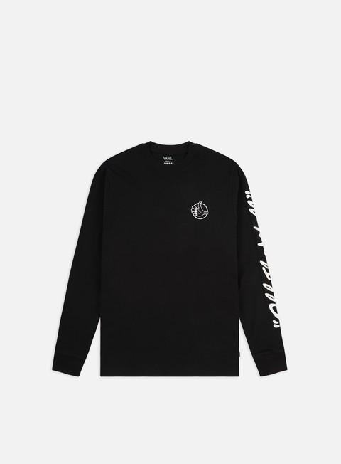 Long Sleeve T-shirts Vans WMNS BMX BF LS T-shirt
