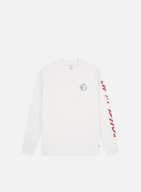 Outlet e Saldi T-shirt a Manica Lunga Vans WMNS BMX BF LS T-shirt