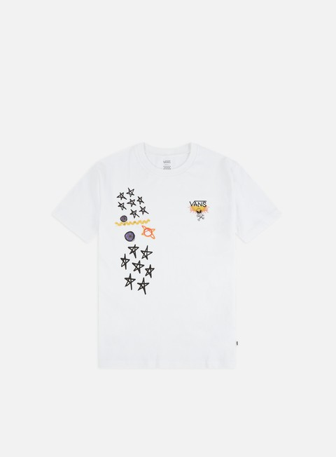 Outlet e Saldi T-shirt a Manica Corta Vans WMNS Boyfriend Galactic Godess T-shirt