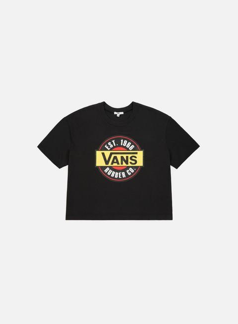t shirt vans wmns chromo top t shirt black