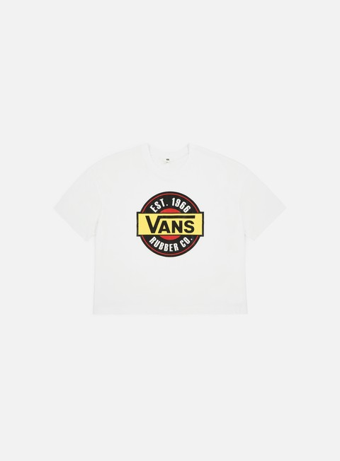 t shirt vans wmns chromo top t shirt white