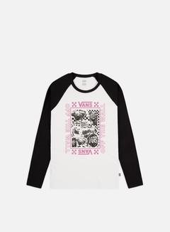 Vans WMNS Lady Vans Sting Raglan Diy LS T-shirt
