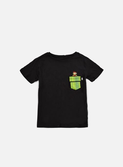 Outlet e Saldi T-shirt pocket Vans WMNS Mario Warp T-shirt