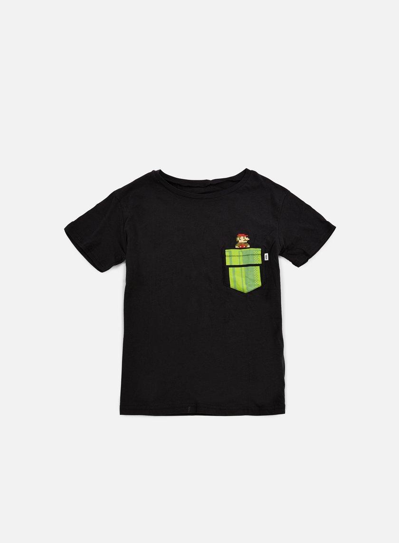 Vans - WMNS Mario Warp T-shirt, Black