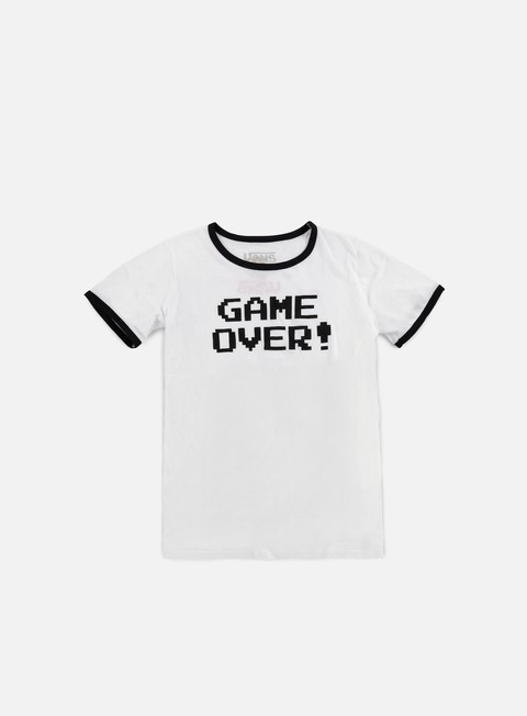 t shirt vans wmns mariover t shirt white black