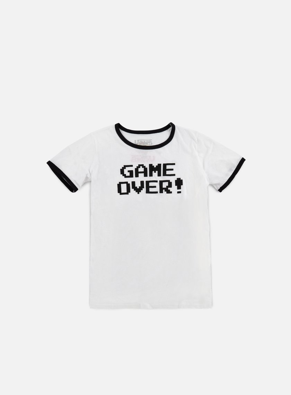 Vans - WMNS Mariover T-shirt, White/Black