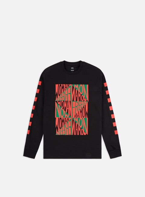 Sale Outlet Long Sleeve T-shirts Vans WMNS MoMA Ringgold LS T-shirt