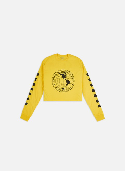 Long Sleeve T-shirts Vans WMNS National Geographic Cropped LS T-shirt