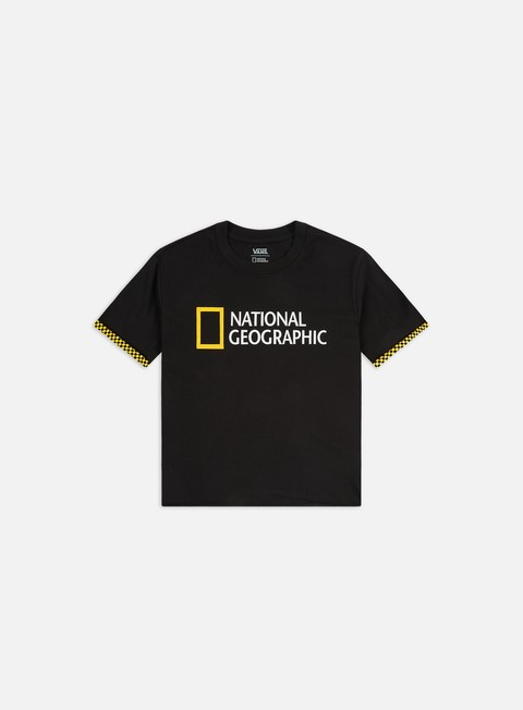 Outlet e Saldi T-shirt a Manica Corta Vans WMNS National Geographic Rollout T-shirt