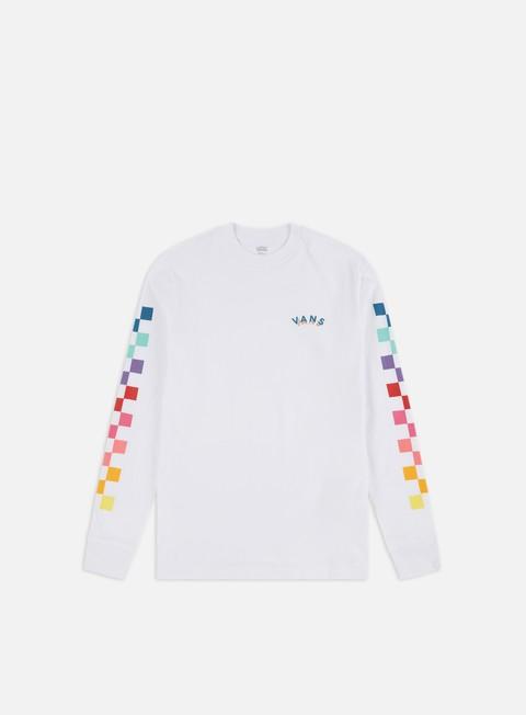 Outlet e Saldi T-shirt a Manica Lunga Vans WMNS Rain Cheks LS T-shirt