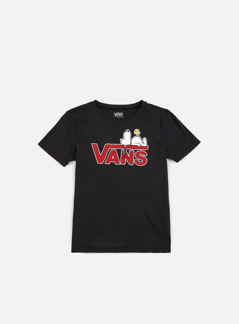 t shirt vans wmns sleeping snoopy t shirt black