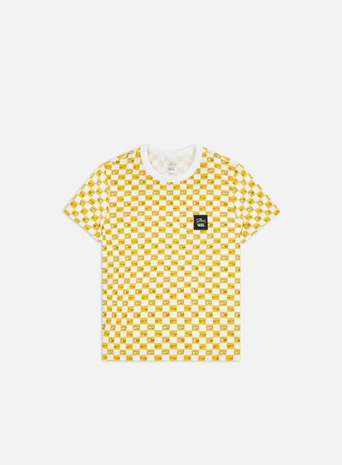 T-shirt con Stampa All Over Vans WMNS The Simpsons Check Eyes T-shirt