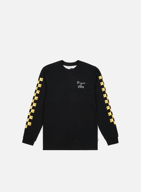 t shirt vans wmns van gogh skull ls t shirt black