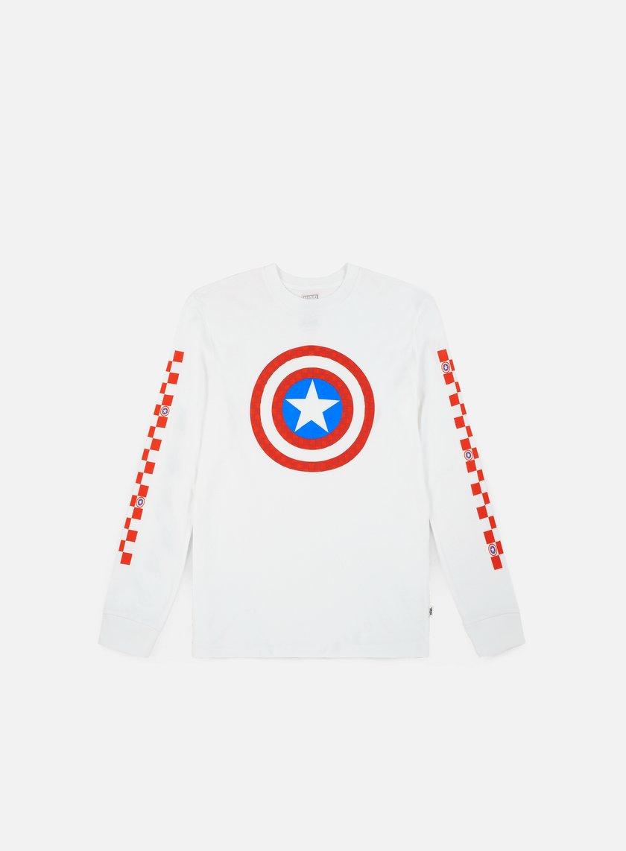 Vans WMNS Vans x Marvel Captain Shields LS T-shirt