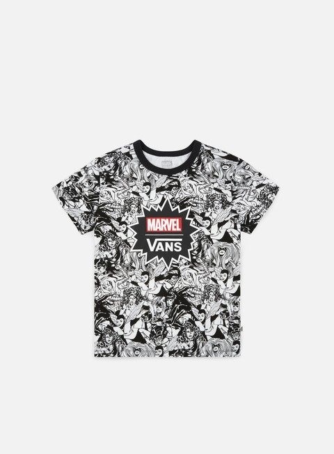 Outlet e Saldi T-shirt all over Vans WMNS Vans x Marvel Marvel Women Baby T-shirt