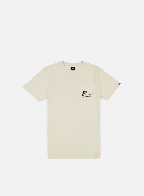 Vans - Yusuke Outdoors Pocket T-shirt, Antique White