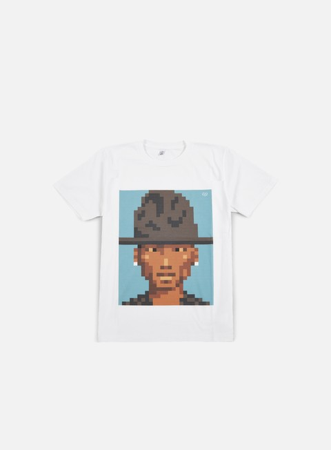 t shirt very important pixels pharrell ii t shirt white