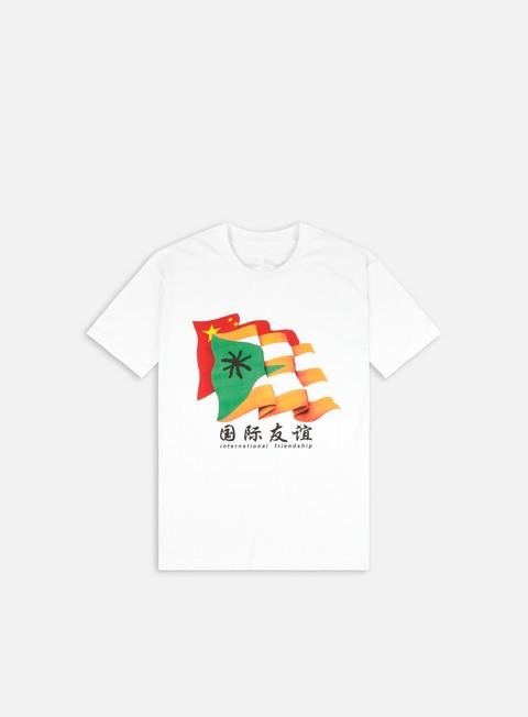 T-shirt a manica corta Warrior Shanghai Wiki Flag T-shirt