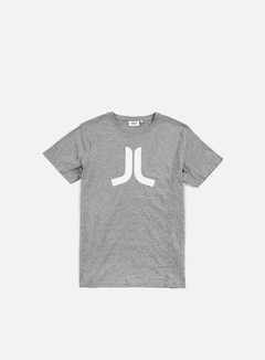 Wesc - Icon T-shirt, Grey Melange/White