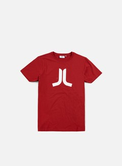Wesc - Icon T-shirt, Pompejan Red/White