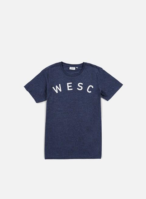 t shirt wesc sixtus t shirt navy blazer