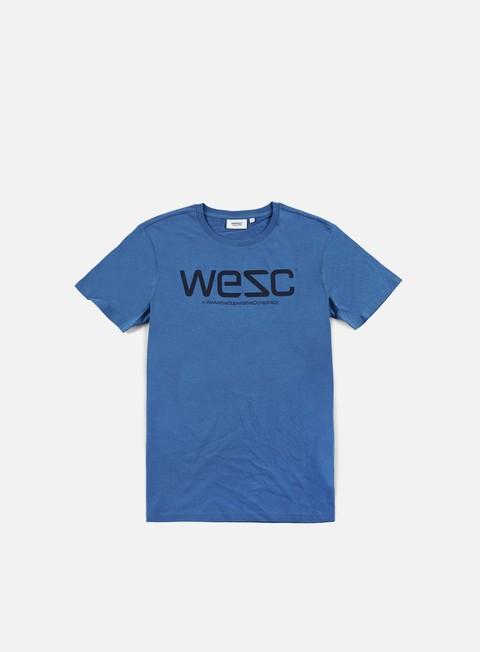 t shirt wesc wesc t shirt deep water navy