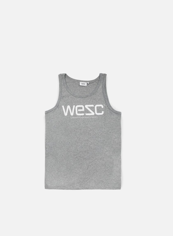 Wesc - Wesc Tank Top, Grey Melange