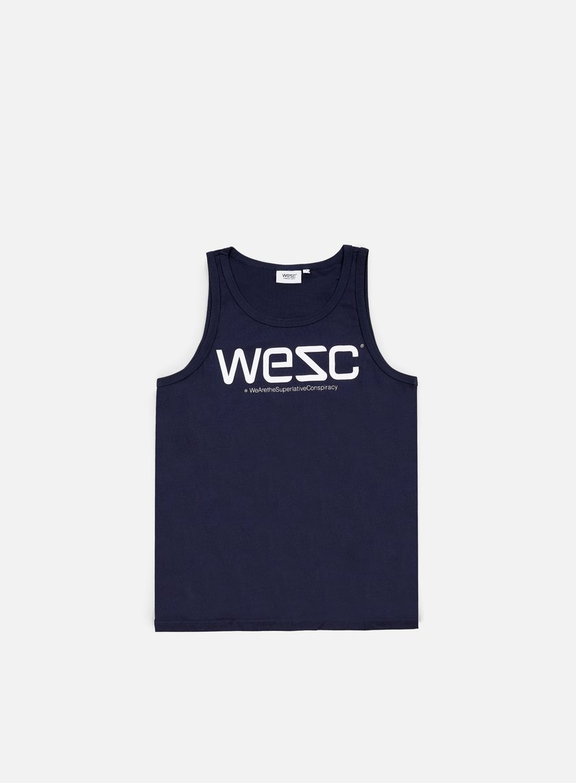 Wesc - Wesc Tank Top, Navy Blazer