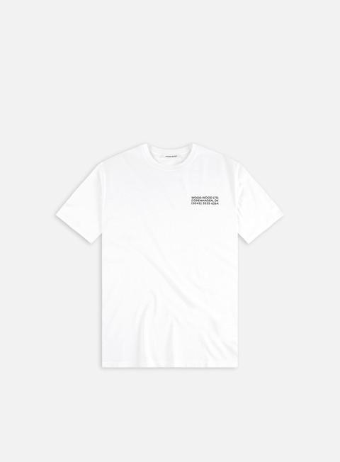T-shirt a manica corta Wood Wood Sami Info T-shirt