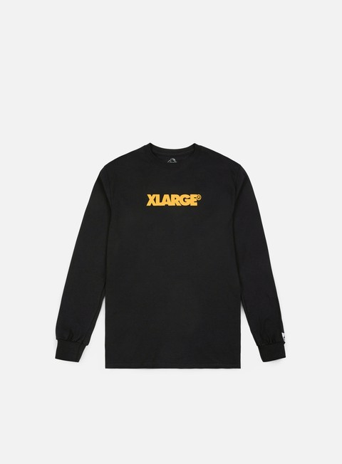 t shirt x large og lockup ls t shirt black