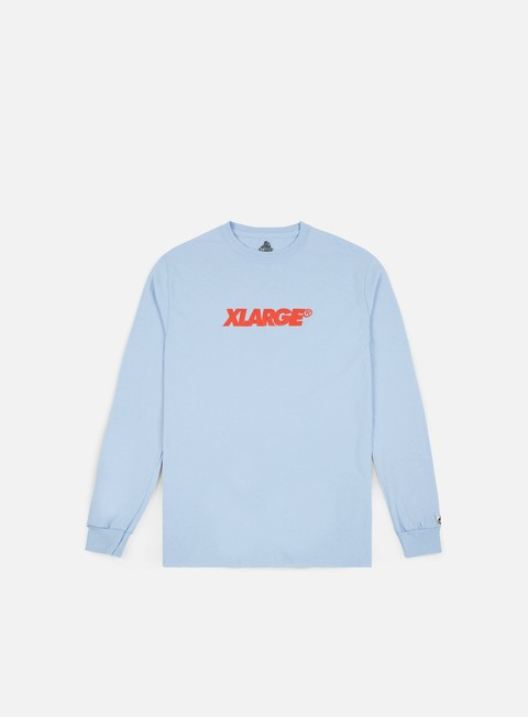 t shirt x large og lockup ls t shirt powder blue