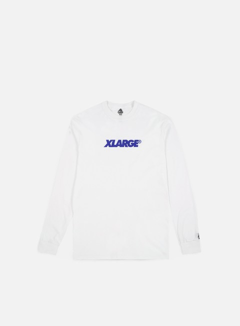 t shirt x large og lockup ls t shirt white