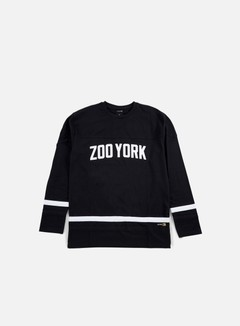 Zoo York - Slammer LS Jersey, Anthracite 1