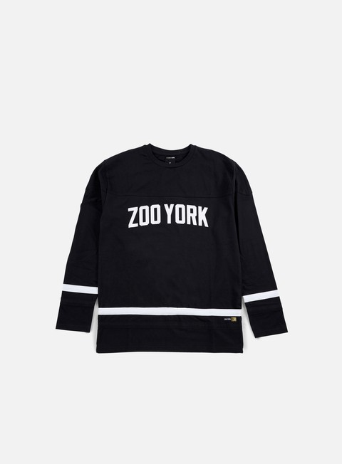 t shirt zoo york slammer ls jersey anthracite