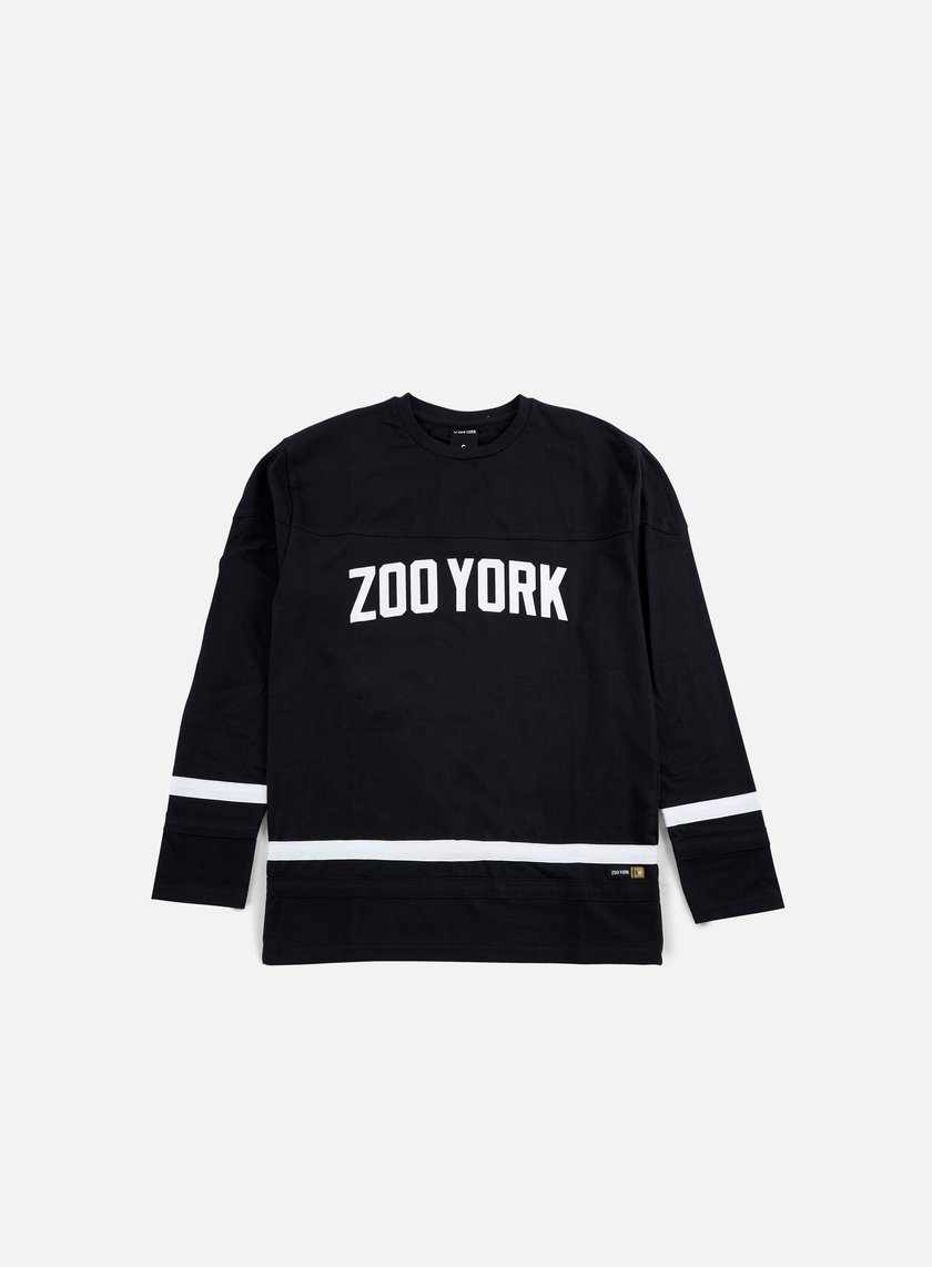 Zoo York - Slammer LS Jersey, Anthracite